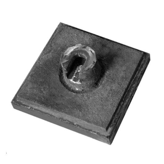 بغل بند ۲۵×۲۵ ناف دار سنگ شکن HS